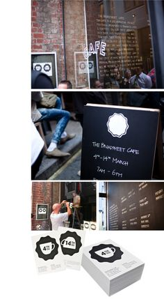 Broadsheet Cafe, Studio Round, shopfront