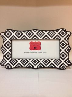barber cosmetology license frame black by familiarfacesframes