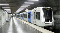 Pregopontocom Tudo: Metrô de Estocolmo tera novo modelo de trem da Bombardier...
