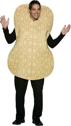 peanut costume | Adult Peanut Costume - Men Halloween Costumes