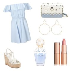 """""""Untitled #139"""" by ashartyray on Polyvore featuring Miss Selfridge, Yves Saint Laurent, Natasha Schweitzer and Marc Jacobs"""