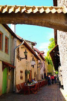 St. Catherine's Passage in Tallinn, Estonia (by Ann Hung).