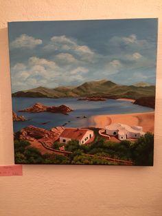 Menorca art schildderij