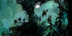 'The Forest'. Giclée Art Print by Daniel Egnéus