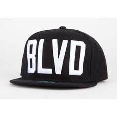 BLVD SUPPLY Block Mens Snapback Hat ($32) ❤ liked on Polyvore