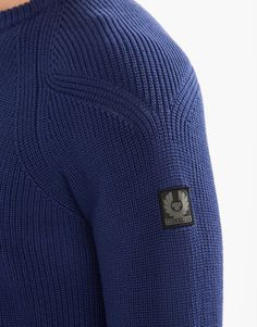 1/2 cardigan with fashioning- Parkland Crew Neck Jumper