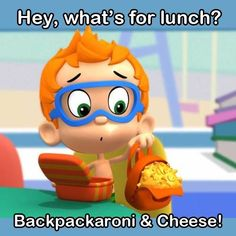 Nonny's lunchtime jokes are so silly!