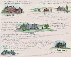 Image result for map of jane eyre's journey