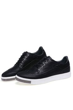 finest selection 9fbdf 9b0a7 Black Lace Up Oxford Sneakers