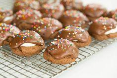 Chocolate Marshmallow Cookies by @Michelle Flynn Flynn Flynn (Brown Eyed Baker) :: www.browneyedbaker.com