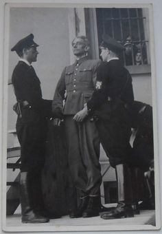 Karl Hermann Frank moments before his execution by hanging. Frank was a prominent Sudeten German Nazi who became secretary of state and chief of police in occupied Czechoslovakia. He implemented brutal methods in suppressing the resistance and he was responsible for the massacres at the Czech villages of Lidice and Ležáky.