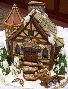 Fairytale Gingerbread House
