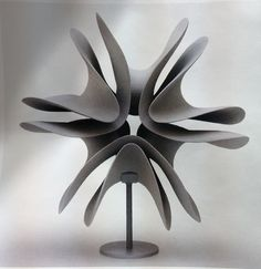 Merete Rasmussen | Grey Double Form {Ceramic Sculpture}