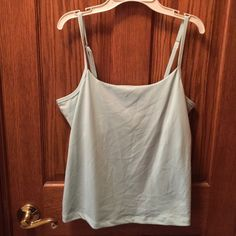 Chadwick's Tank Top Chadwick's tank top, light blue, NWOT, size L. Never worn because I am 6', and it was too short for me. Chadwicks Tops Tank Tops