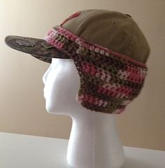 Baseball Cap Ear Warmers-$2.95