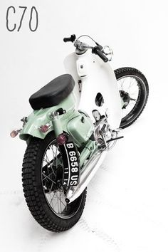 Customs  Honda C70