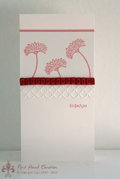 Stampin' UP! Reason to Smile by First Hand Emotion