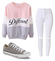 """Untitled #79"" by superstarriver ❤ liked on Polyvore featuring Converse"