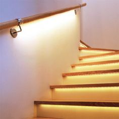 Marvelous 24 Lights For Stairways Ideas For Your Home Decor Inspiration | Mini Heart,  Staircases And Heart Attack