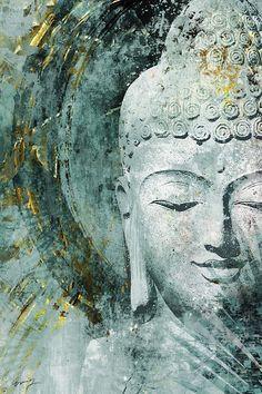 Art by: Eric Yang Title: Buddha Buddha Artwork, Buddha Wall Art, Canvas Artwork, Canvas Art Prints, Buddha Canvas, 3 Piece Canvas Art, Buddha Zen, Buddha Buddhism, Acrylic Art