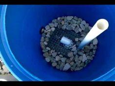 homemade pond filters | DIY BEST DESIGN FOR A KOI POND FILTER PART 1 - YouTube