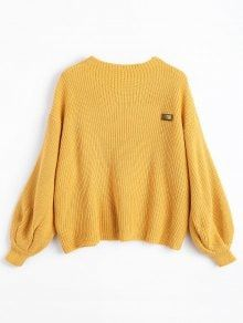 ... Pullover Sweater - White