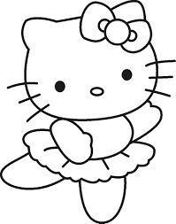 Hello Kitty Coloring Pages . 30 Elegant Hello Kitty Coloring Pages . Lots Of Hello Kitty Coloring Pages to Choose From Here Ballerina Coloring Pages, Coloring Pages For Girls, Coloring Pages To Print, Free Printable Coloring Pages, Free Coloring Pages, Coloring For Kids, Coloring Books, Free Printables, Coloring Worksheets