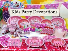 #kidspartydecorations. We've got what you need for a professionally styled look to WOW your guests.