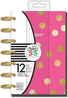 Mini Happy Planner BIG CITY BRIGHTS Me & My Big Ideas 12 month Planners Laminated Covers Disc bound Divider inserts Calendar page Create 365
