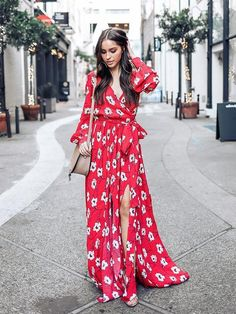 Red Bohemia Printed Belted Maxi Dress - Red Bohemia Printed Belted Maxi Dress Source by dressesdeal - Summer Dresses With Sleeves, Best Summer Dresses, Summer Dress Outfits, Plus Dresses, Maxi Dresses, Hippie Style, Look Hippie Chic, Boho Chic, Maxi Shirt Dress