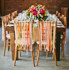Ribbons - add a little extra pizzaz when decorating for your party.