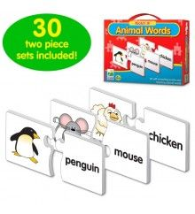 The Learning Journey: Match It! - Spelling - 20 Self-Correcting Spelling Puzzle for Three and Four Letter Words with Matching Images Animal Puzzle, Human Body Parts, Four Letter Words, 1 Year Olds, Learning Games, Matching Games, Puzzle Pieces, Learn To Read, Kids Education