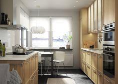 METOD keuken | #IKEA #IKEAnl #warm #hout #keukensysteem #EKESTAD