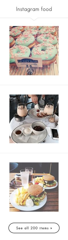 """""""Instagram food"""" by dreamofjess ❤ liked on Polyvore featuring instagram, pictures, food, photos, pics, food and drink, images, fotos, insta and backgrounds"""