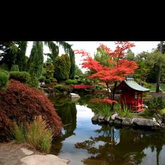 Japanese Gardens Point Defiance Park  Tacoma WA