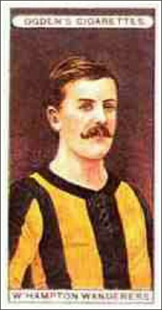 Wolves cigarette card in 1906.
