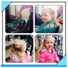Fun cut and braids for my beauty!!