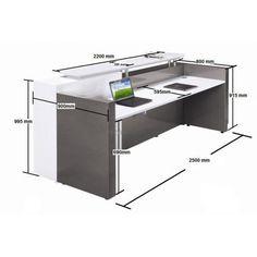 Alpha Reception Counter Desk, Reception Office Desks Hob Top .