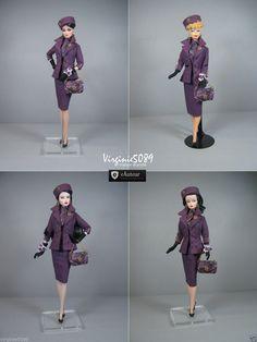 Tenue Outfit Accessoires Pour Fashion Royalty Barbie Silkstone Vintage 1426   eBay