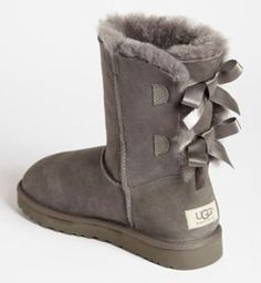 Bow back uggs. These are cute!!