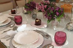 mesa de jantar posta roxa - Pesquisa Google