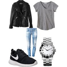 A fashion look from May 2014 featuring Dsquared2 jeans, NIKE athletic shoes and MARC BY MARC JACOBS watches. Browse and shop related looks.