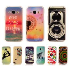 Cute Soft Plastic Silicon Rubber Case For Samsung Galaxy Core Prime G360 G3606 Printed Cartoon Phone Cases Protective TPU Cover