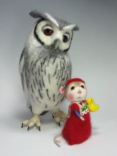 Needle Felted Creations By Barby Anderson and Helen Priem