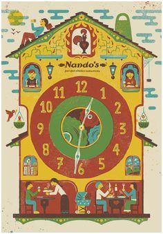 Nandos by MUTI , via Behance
