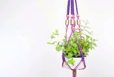 Threadbangers Macrame Planter