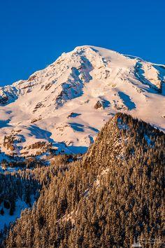 Alpine Winter Views, Mount Rainier, Washington, 2017 | #nationalpark #landscape #nature #mountrainier #snow #winter #photography #art #prints #wallart