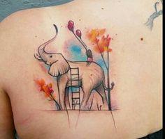 #Tattoo #Watercolour