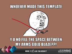 Y U NO (Gold Blaze)