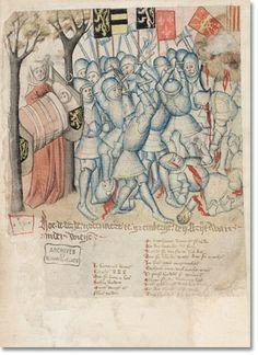 Jan van Boendale, Brabantse Yeesten KBR - Cabinet of the Manuscripts, mss. IV and IV 684 685   Jan van Boendale, Brabantsche Yeesten , Books IV and V   Southern Netherlands, XV th century